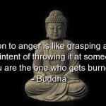 buddha hot coal