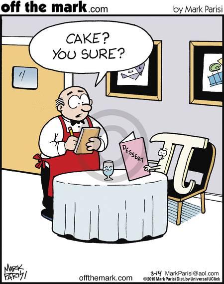 cake and pi